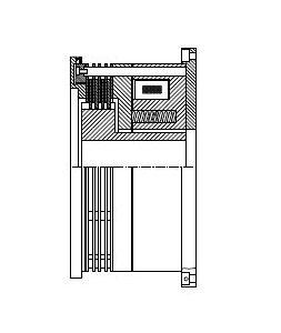 FMOBV - Electromagnetic Spring-Operated Multi-Disc Brake Image
