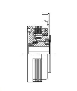 FMV - Electromagnetic Multi-Disc Clutch Image