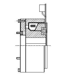 FOSMS - Electromagnetic Single-Face Diapragm Clutch Image