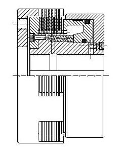HLW - Hydraulic Multi-Disc Clutch Image