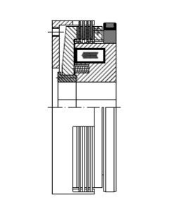 LMS - Electromagnetic Slip Ring Multi-Disc Clutch Image