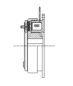 MC - Electromagnetic Single-Face Diaphragm Clutch Image