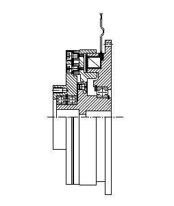 MDSL - Electromagnetic Single-Face Diaphragm Clutch Image