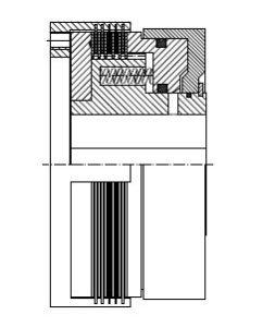 PLW - Pneumatic Multi-Disc Clutch Image
