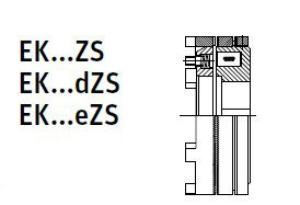 MZK-S - Electromagnetic Slip Ring Tooth Clutch Image